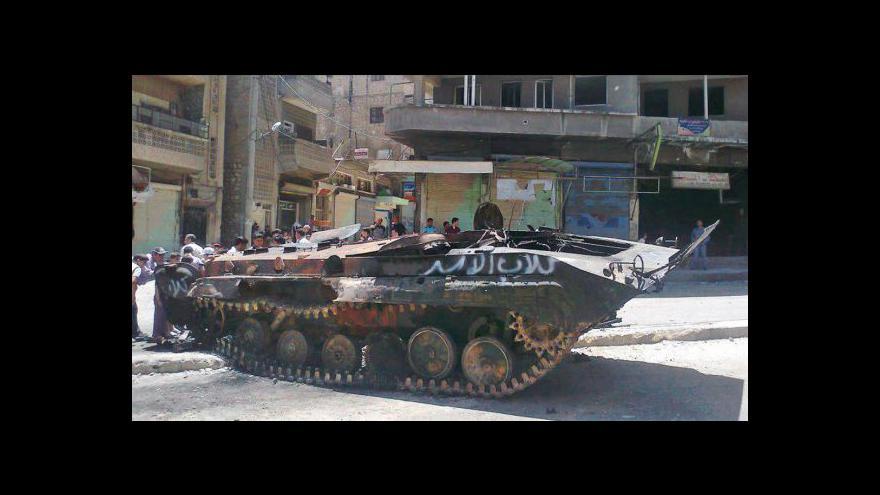 Video V Sýrii eskaluje napětí