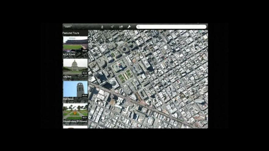 Video Google představil mapy v trojrozměrném zobrazení