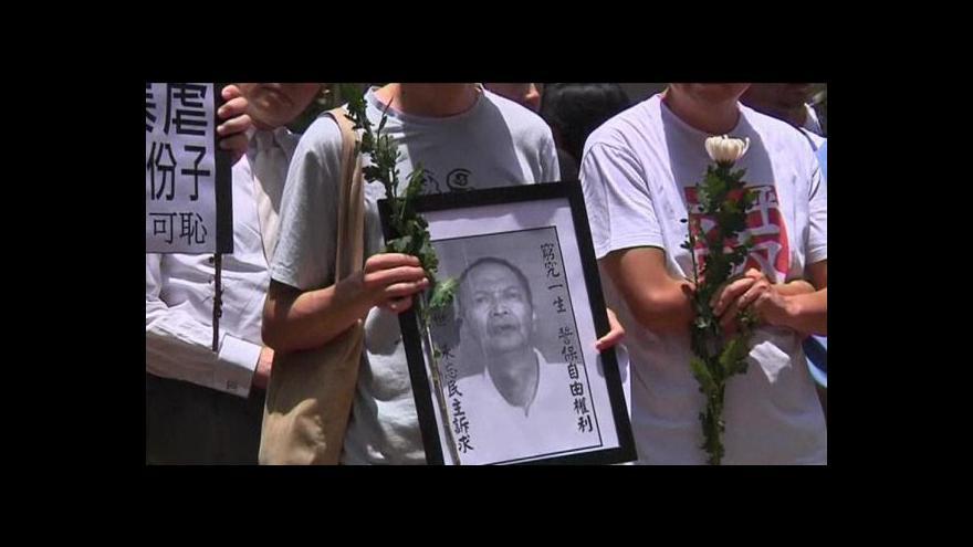 Video Podezřelá smrt čínského disidenta