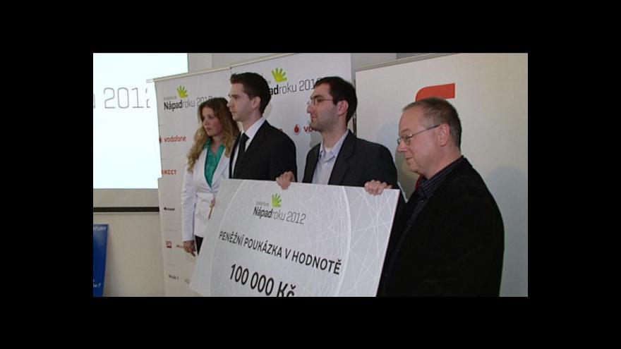 Video Ekonomika ČT24: Kurz rychločtení - nápad roku 2012