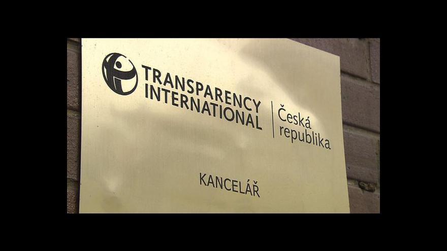 Video Transparency International bojuje proti korupci