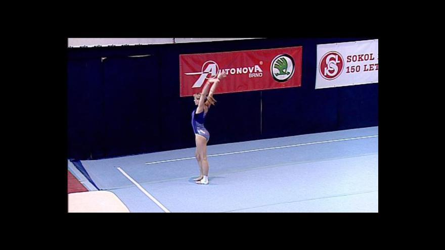 Video MČR ve sportovní gymnastice