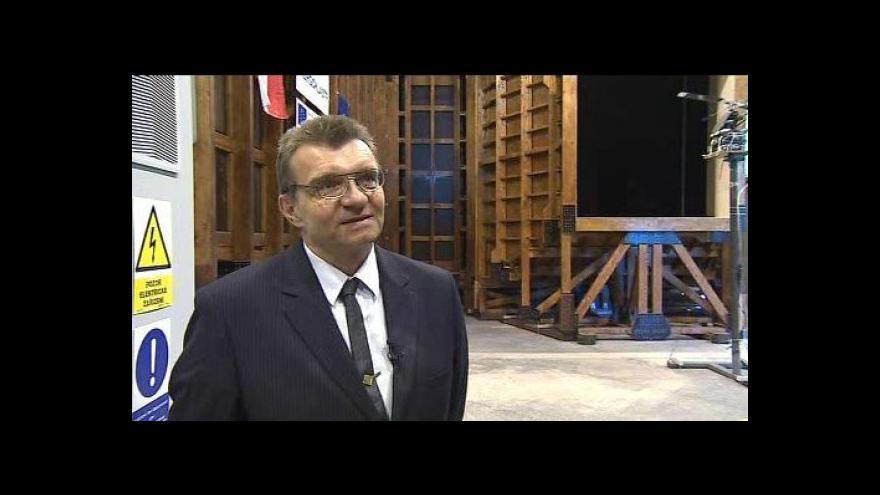 Video O novém tunelu hovoří odborník Dalibor Rozehnal