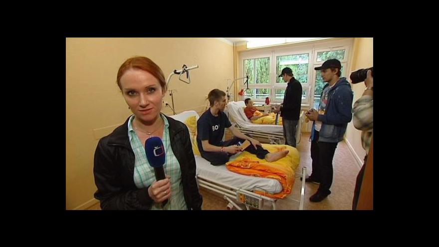 Video Reportáž Alexandry Přečkové