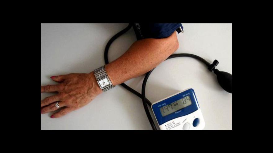 Video Reportáž Lenky Drmotové o léčbě tlaku