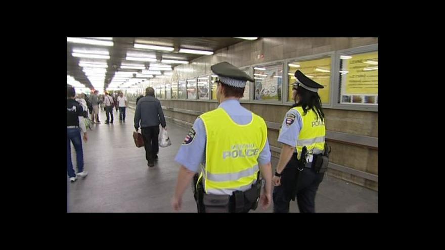 Video Kontrola prodejců v podchodu pod hlavním nádražím