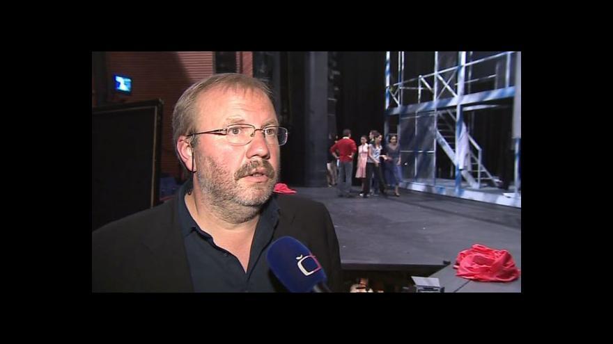 Video Stanislav Moša o muzikálu Pokrevní bratři