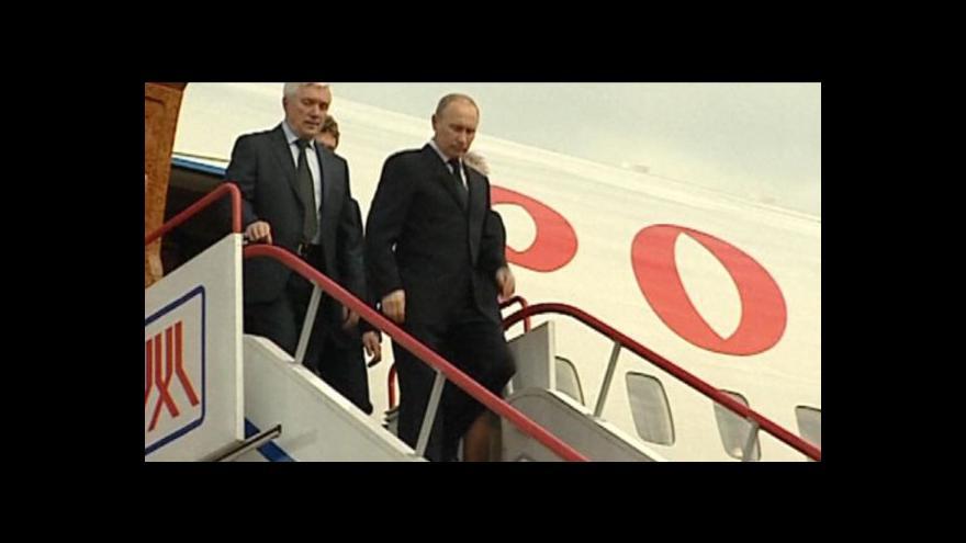 Video Vladimir Putin na zahraniční cestě po Evropě