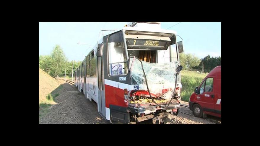 Video NO COMMENT: Srážka tramvají