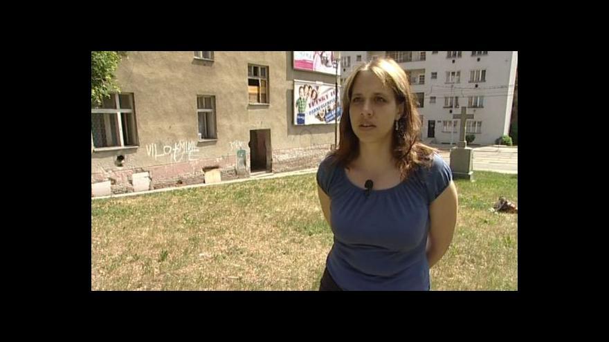 Video Sociální pracovnice Leona Bikárová o problémech vyloučených lokalit