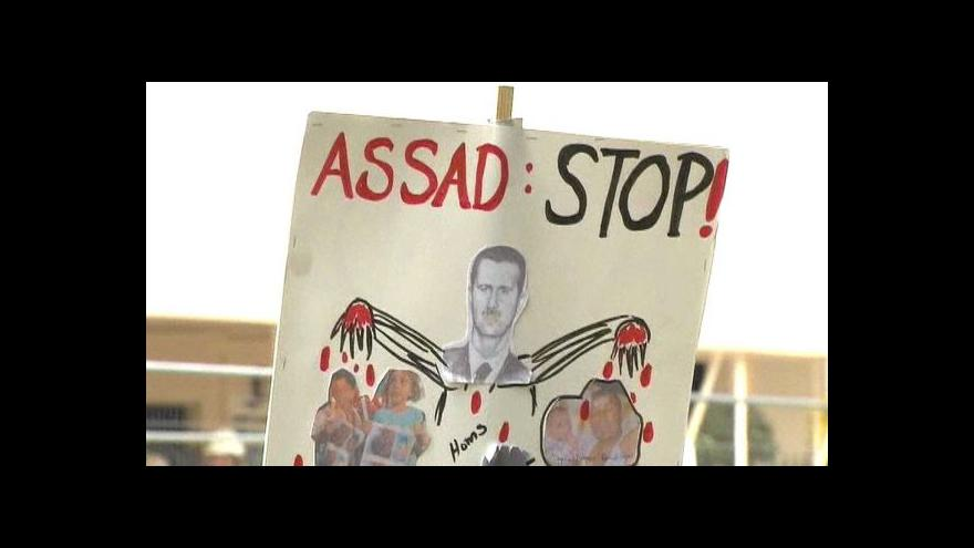 Video Clintonová kritizuje Rusko za vstřícný postoj k Asadovi
