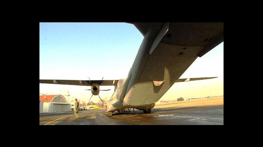 Video Studio ČT24 - závady na letounech CASA