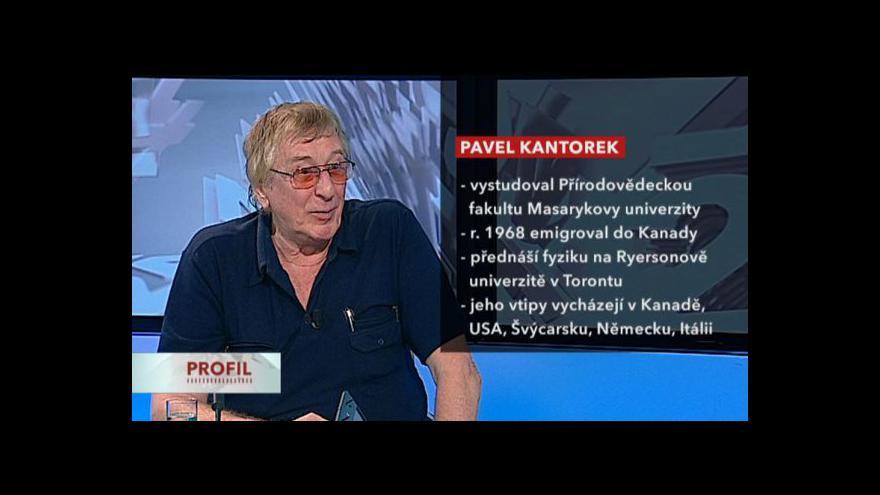 Video Rozhovor s Pavlem Kantorkem