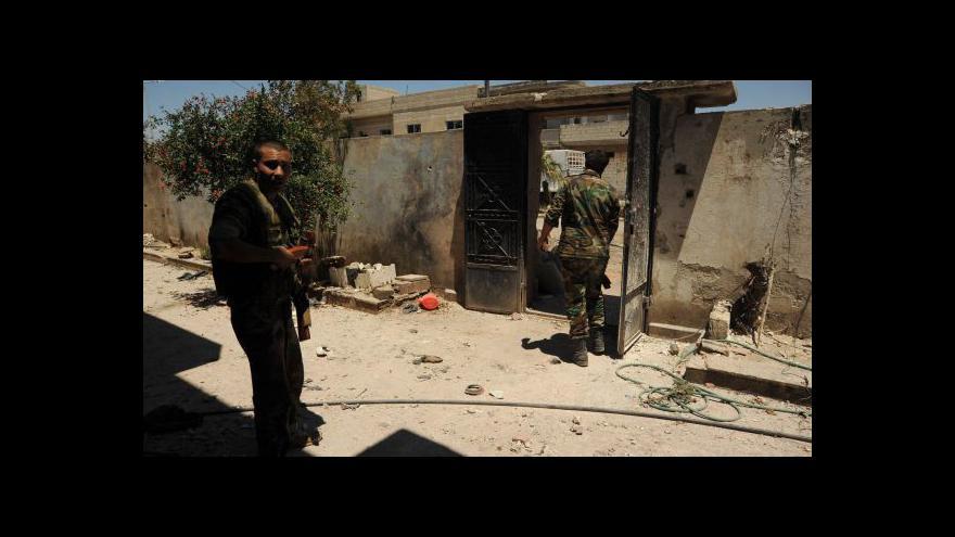 Video Povstalci dali Asadovi ultimátum