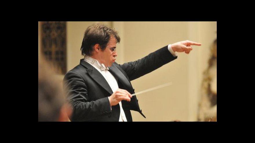 Video Dirigent Jakuba Hrůša hostem Událostí, komentářů