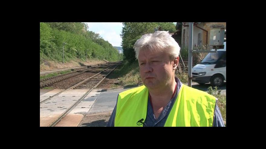 Video Libor Bruzl z Drážní inspekce o bezpečnostních opatřeních