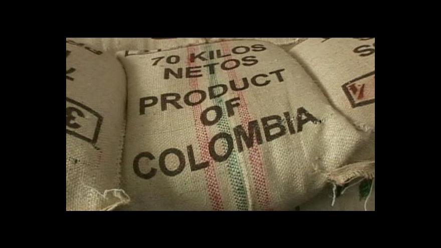 Video Kolumbie zdvojnásobí produkci kávy