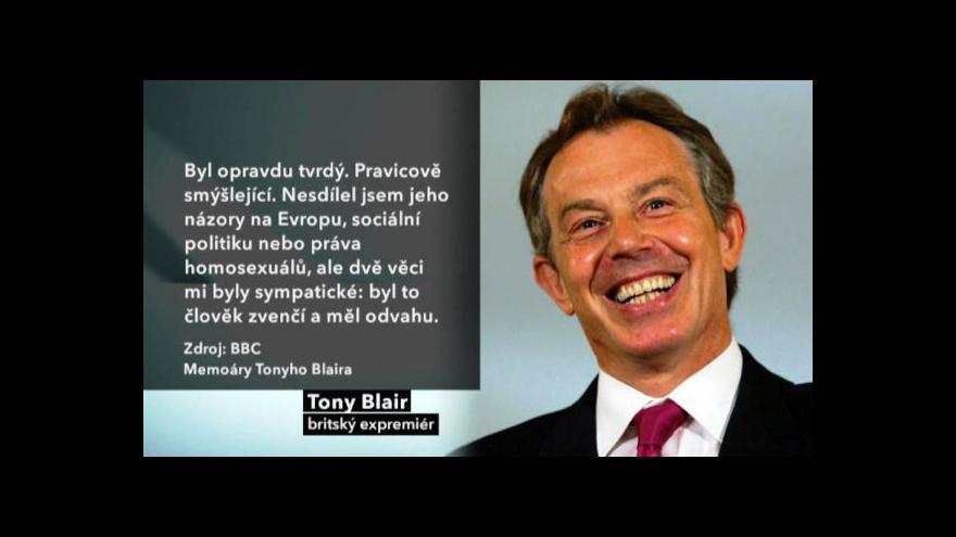 Video Blair bude vypovídat před komisí