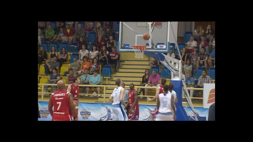 Video Basketbalisté Nymburku vedou již 3:0