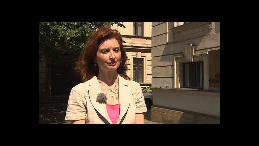 Video Rozhovor s Monikou Šimůnkovou