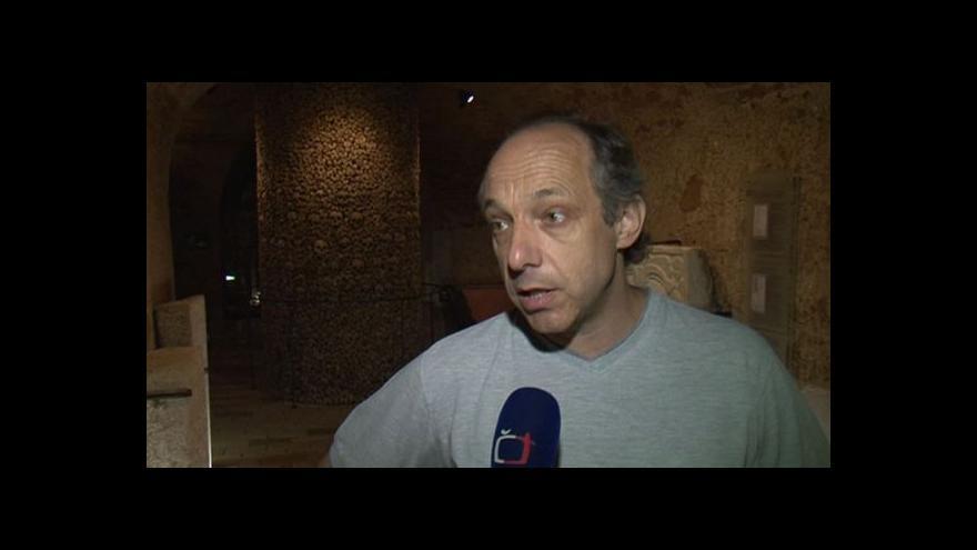 Video Expert na brněnské podzemí Aleš Svoboda o přípravě expozice