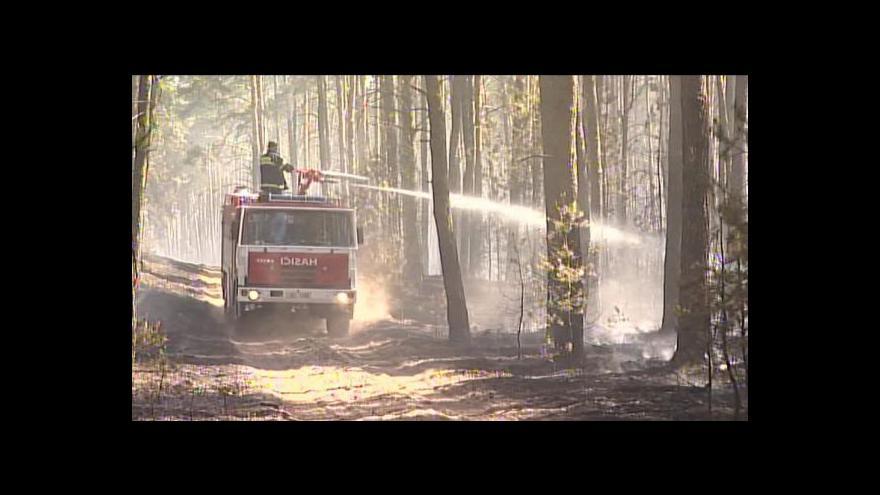Video Hasiči jsou u požáru už 20 hodin