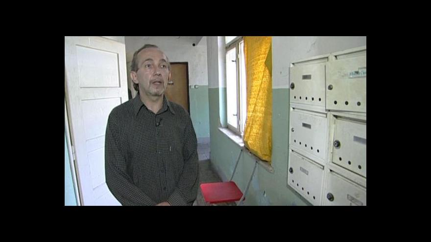 Video O plánech s ubytovnou hovoří domovník Václav Sekanina
