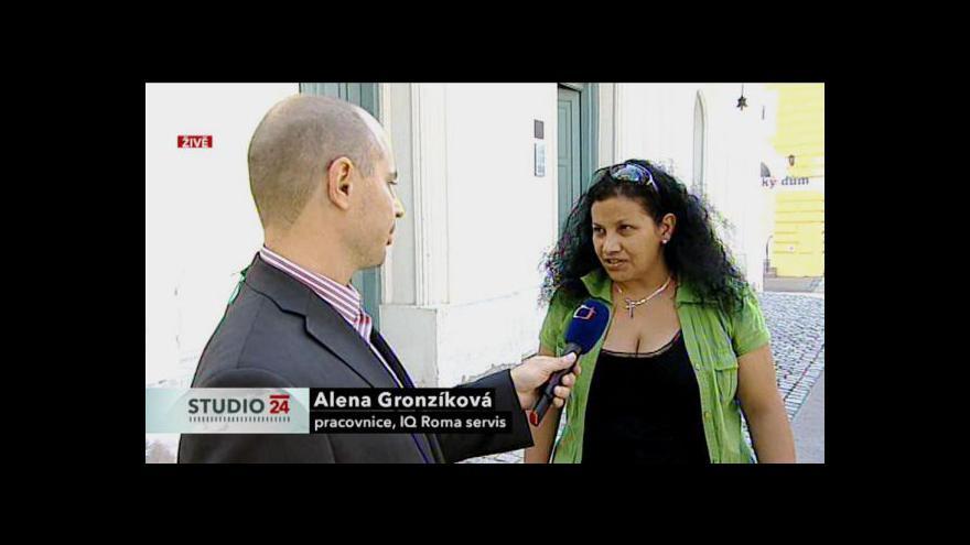 Video Studio ČT24 o vymyšleném napadení v Břeclavi