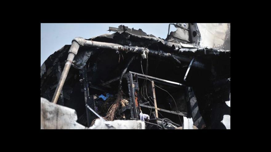 Video Události: U Čáslavi havaroval ruský Antonov