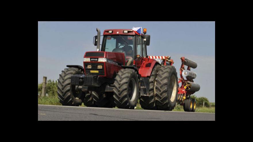Video Protesty zemědělců v regionech