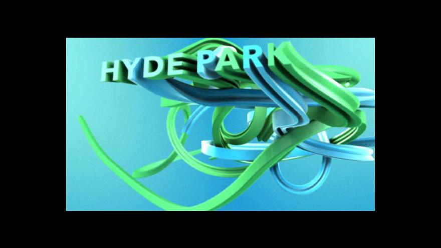 Video Hyde Park s Vladimírou Glatzovou