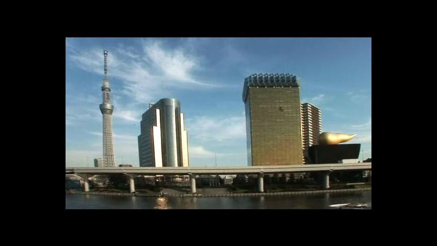 Video Pro veřejnost se otevřela budova Tokyo Skytree