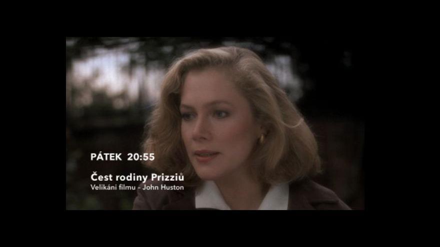 Video Ukázka z filmu Čest rodiny Prizziů