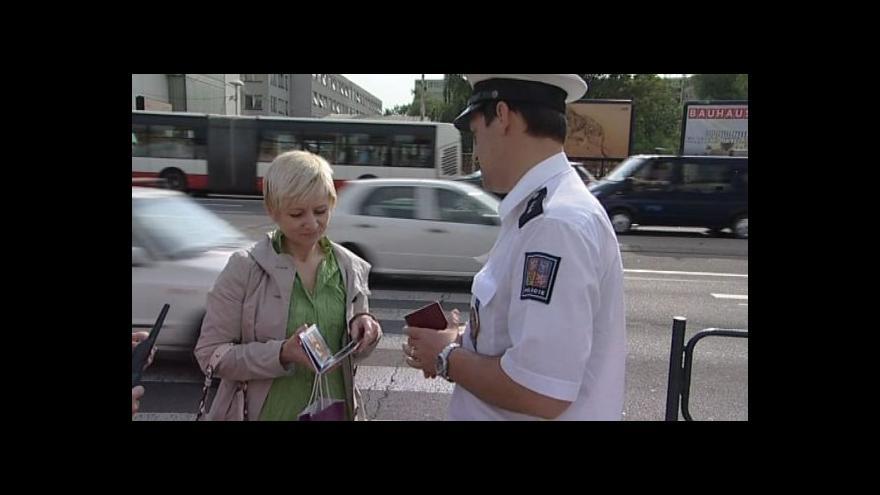 Video Kontrola chodců na přechodech
