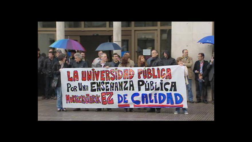 Video Ve Španělsku se opět stávkuje