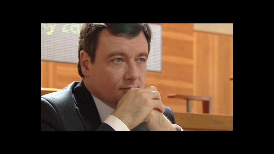 Video Události, komentáře o kauze Davida Ratha
