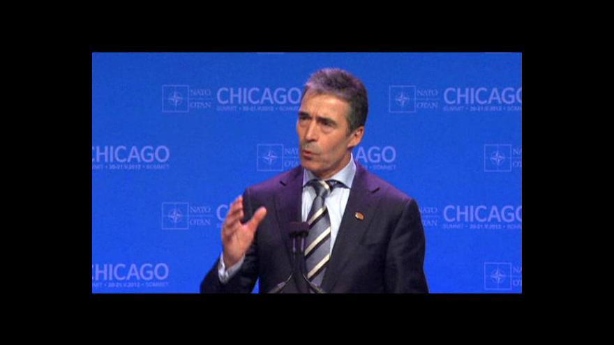 Video Brífink na summitu NATO v Chicagu