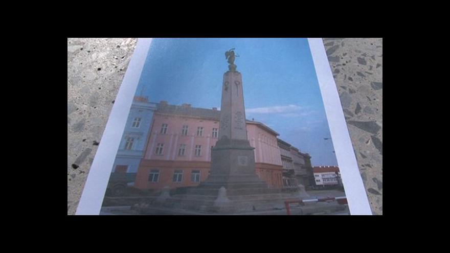 Video Zastupitel a historik Jiří Kacetl (ODS) o historii pomníku