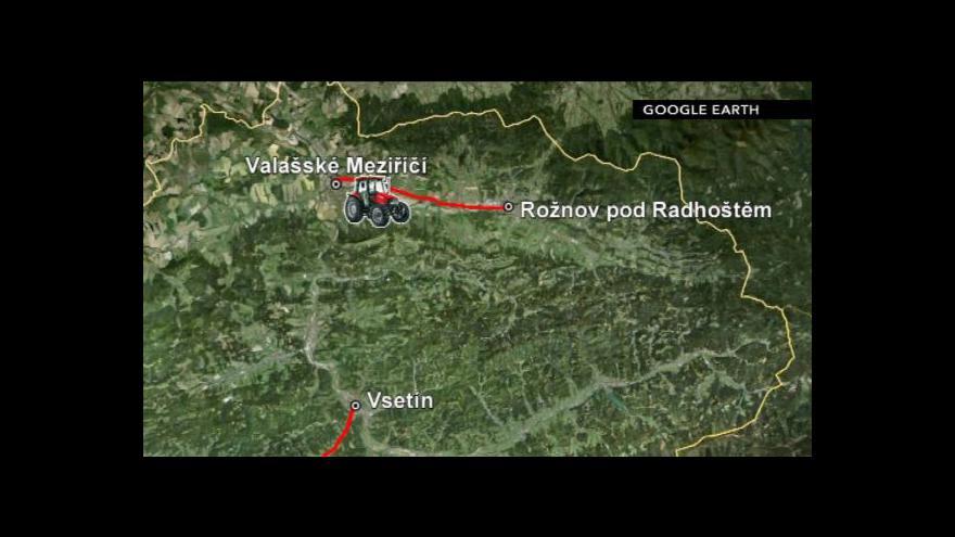 Video Blokáda ve Zlínském kraji
