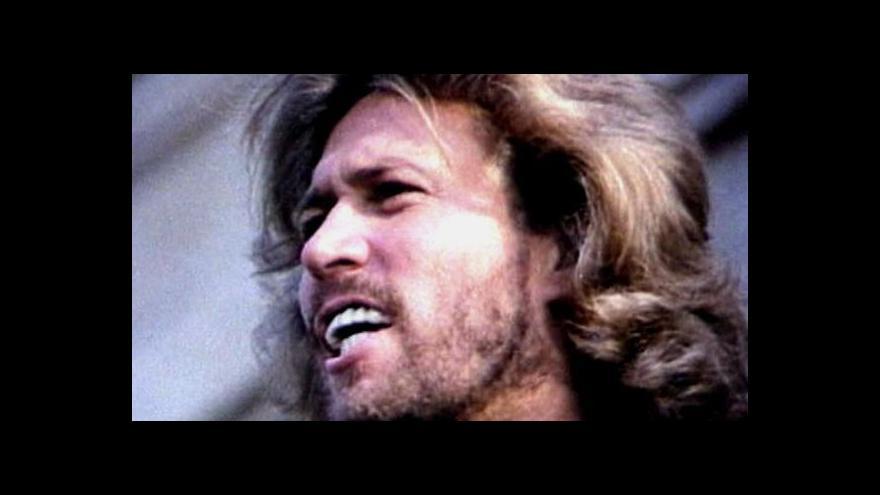Video Robin Gibb podlehl rakovině