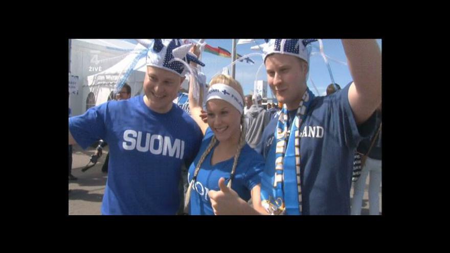 Video Fanoušci na mistrovství světa