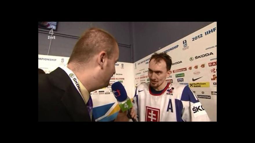 Video Miroslav Šatan o utkání s ČR