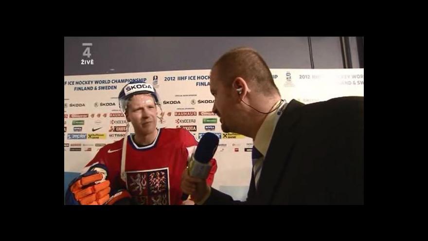 Video Aleš Hemský po utkání se Slovenskem