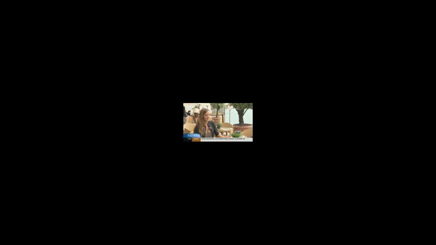 Video Petra Němcová v Cannes