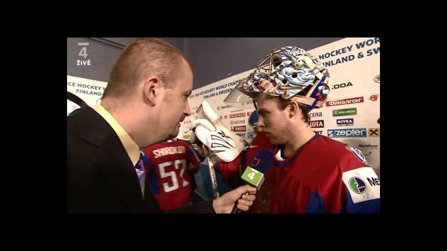 Video Reakce Semjona Varlamova po semifinále