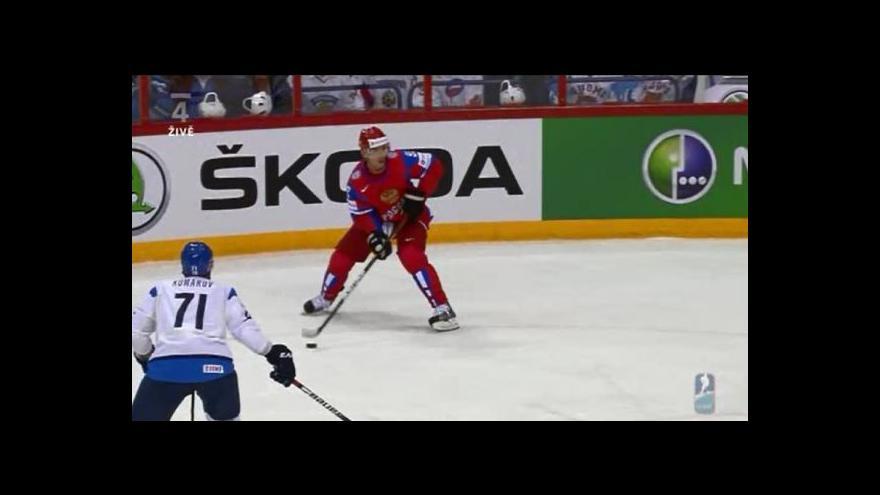 Video Sestřih utkání Rusko - Finsko