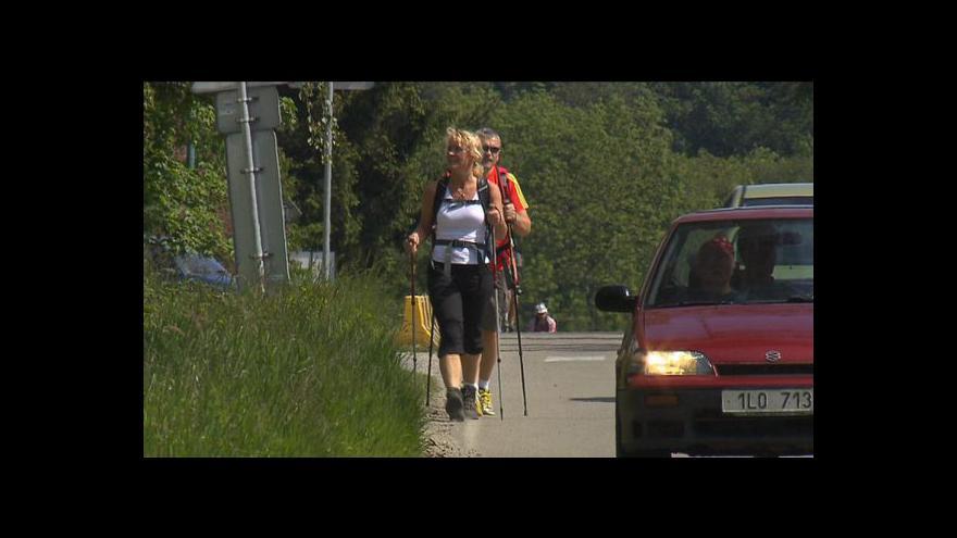 Video Turisté vyrazili do Prčic