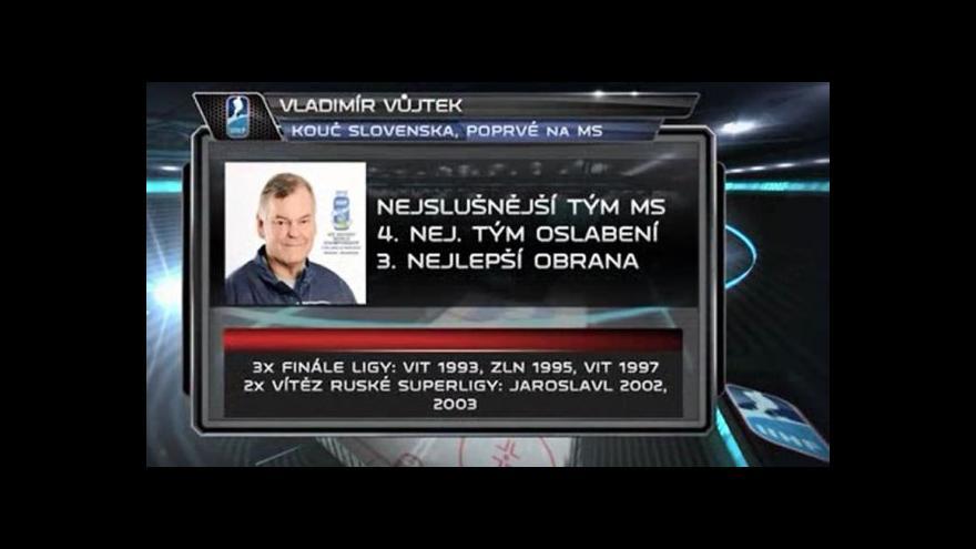 Video Vladimír Vůjtek poprvé na MS
