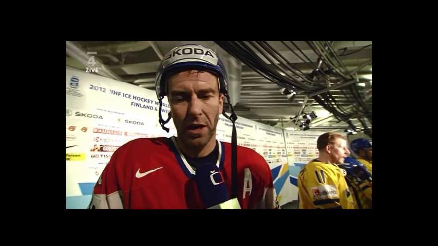Video Reakce Petra Nedvěda po čtvrtfinále