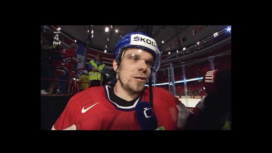 Video Reakce Milana Michálka po čtvrtfinále
